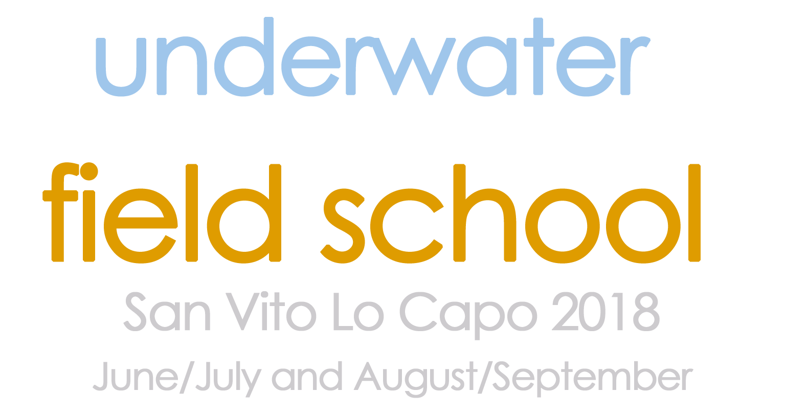 Underwater archaeology field school 2018